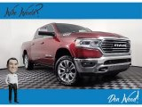 2019 Delmonico Red Pearl Ram 1500 Long Horn Crew Cab 4x4 #140318057