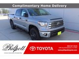 2021 Cement Toyota Tundra SR5 CrewMax 4x4 #140318153