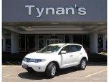 2009 Glacier Pearl Nissan Murano S AWD #13883191