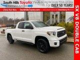 2021 Super White Toyota Tundra SR Double Cab 4x4 #140349234