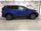 2021 Aegean Blue Metallic Honda CR-V EX-L AWD #140402215