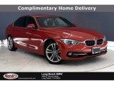 2018 Melbourne Red Metallic BMW 3 Series 330e iPerformance Sedan #140415087