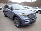 2021 Ford Explorer Infinite Blue Metallic