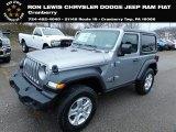 2021 Jeep Wrangler Billet Silver Metallic