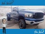 2009 Patriot Blue Pearl Dodge Ram 3500 SLT Quad Cab 4x4 Dually #140538310