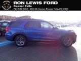 2021 Ford Explorer Atlas Blue Metallic