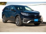 2020 Crystal Black Pearl Honda CR-V EX-L AWD Hybrid #140618695