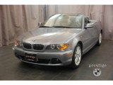 2004 Silver Grey Metallic BMW 3 Series 330i Convertible #14041722