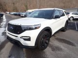 2021 Ford Explorer Star White Metallic Tri-Coat