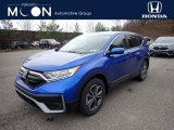 2021 Aegean Blue Metallic Honda CR-V EX AWD #140648707