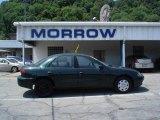 2003 Dark Green Metallic Chevrolet Cavalier Sedan #14048975