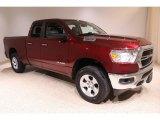 2020 Delmonico Red Pearl Ram 1500 Big Horn Quad Cab 4x4 #140664795