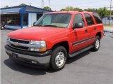 2005 Sport Red Metallic Chevrolet Tahoe LS #14045508