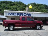 2006 Sport Red Metallic Chevrolet Silverado 1500 LT Extended Cab 4x4 #14048976