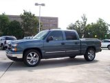 2006 Blue Granite Metallic Chevrolet Silverado 1500 LT Crew Cab #14060677