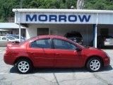 2003 Blaze Red Crystal Pearl Dodge Neon SXT #14048872