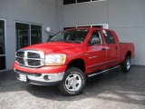2006 Flame Red Dodge Ram 1500 SLT Mega Cab 4x4 #14043091