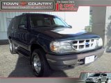 1997 Medium Willow Metallic Ford Explorer XLT 4x4 #14060653
