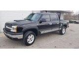 2005 Black Chevrolet Silverado 1500 Z71 Crew Cab 4x4 #140729145
