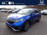 2021 Aegean Blue Metallic Honda CR-V EX AWD #140769458