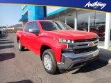 2021 Red Hot Chevrolet Silverado 1500 LT Crew Cab 4x4 #140780938