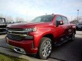 2021 Chevrolet Silverado 1500 Cherry Red Tintcoat