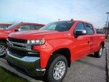 2021 Red Hot Chevrolet Silverado 1500 LT Crew Cab 4x4 #140791948