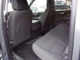 2021 Chevrolet Silverado 1500 Custom Crew Cab 4x4 Jet Black Interior