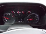 2021 Chevrolet Silverado 1500 Custom Crew Cab 4x4 Gauges