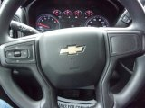 2021 Chevrolet Silverado 1500 Custom Crew Cab 4x4 Steering Wheel