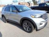 2021 Ford Explorer Iconic Silver Metallic