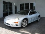 2003 Sterling Silver Metallic Mitsubishi Eclipse GT Coupe #14043086