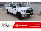 2021 Super White Toyota Tundra SR5 CrewMax 4x4 #140875757