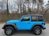 2021 Jeep Wrangler Chief Blue