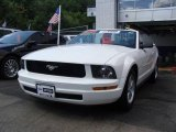 2006 Performance White Ford Mustang V6 Premium Convertible #14055118
