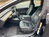 2019 Tesla Model 3 Interiors