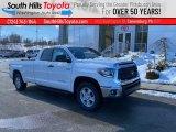 2021 Super White Toyota Tundra SR5 Double Cab 4x4 #140996184