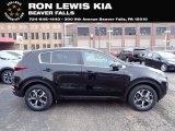 2021 Kia Sportage Black Cherry