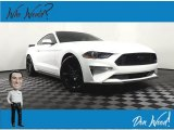 2019 Oxford White Ford Mustang EcoBoost Fastback #141171810