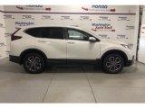 2021 Platinum White Pearl Honda CR-V EX AWD #141194652