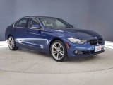 2017 Mediterranean Blue Metallic BMW 3 Series 330i Sedan #141214692