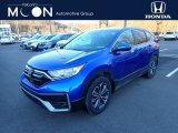 2021 Aegean Blue Metallic Honda CR-V EX-L AWD #141214673