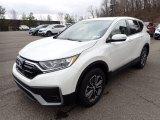 2021 Platinum White Pearl Honda CR-V EX AWD #141234499