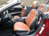 2019 Ford Mustang EcoBoost Convertible Tan Interior