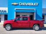 Cherry Red Tintcoat Chevrolet Silverado 1500 in 2021