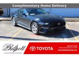 2018 Shadow Black Ford Mustang EcoBoost Fastback #141270608