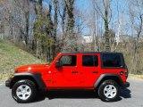 2021 Jeep Wrangler Firecracker Red