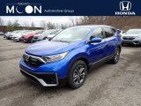 2021 Aegean Blue Metallic Honda CR-V EX AWD #141347660