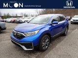 2021 Aegean Blue Metallic Honda CR-V EX-L AWD #141347659