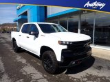 2021 Summit White Chevrolet Silverado 1500 LT Trail Boss Crew Cab 4x4 #141363467